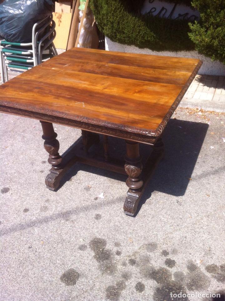 Mesa antigua para restaurar comprar mesas antiguas en for Antiguedades para restaurar