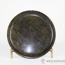 Antigüedades: CENTRO DE MESA FRANCÉS. MÁRMOL DE TONO OSCURO. SIGLO XIX. Lote 38045201