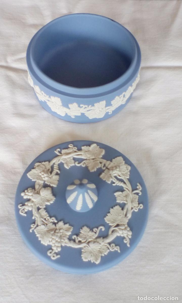 Antigüedades: Caja Wedgwood coleccion Jasper Ware - Foto 2 - 63738639