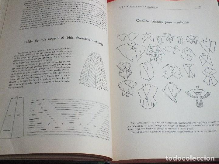 Antigüedades: CORTE SISTEMA AMADOR CONFECCION PATRONES PARA SEÑORA CABALLERO NIÑOS 10 EDICION 1963 SIN PLANTILLAS - Foto 5 - 63776951