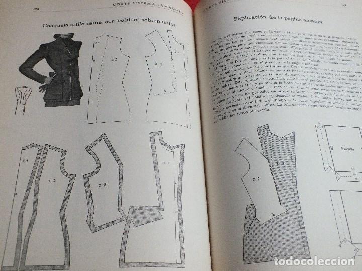 Antigüedades: CORTE SISTEMA AMADOR CONFECCION PATRONES PARA SEÑORA CABALLERO NIÑOS 10 EDICION 1963 SIN PLANTILLAS - Foto 9 - 63776951