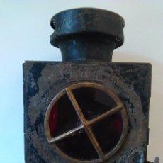Antigüedades: ANTIGUO FAROL COCHE . Lote 63781667