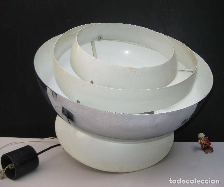 Antigüedades: bestial! LAMPARA ANTIGUA VIP DISEÑO TIPO SATURN MOTOZAWA EAMES PH POULSEN AYUDA! - Foto 3 - 63810007
