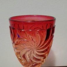 Antiquitäten - Copa bambú rose Baccarat depose. s. XIX - 63817722