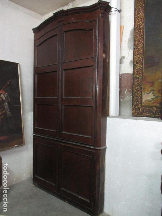 Antiguo armario empotrado carlos iv 4 puert comprar for Puertas de madera estilo antiguo