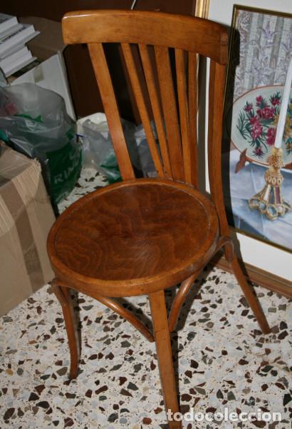 antigua silla de bar thonet o similar - Comprar Sillas Antiguas en ...