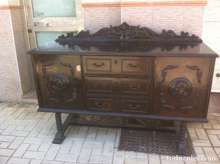 MUEBLE ANTIGUO SALON (Antigüedades - Muebles Antiguos - Aparadores Antiguos)