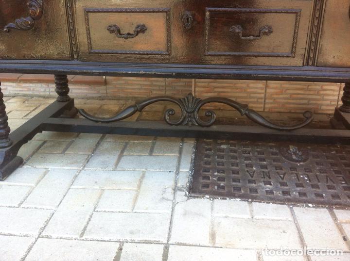 Antigüedades: MUEBLE ANTIGUO SALON - Foto 2 - 63985551