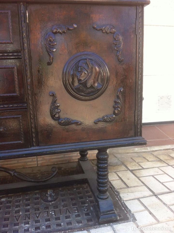 Antigüedades: MUEBLE ANTIGUO SALON - Foto 3 - 63985551