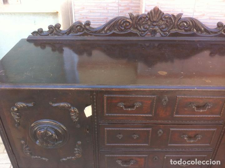 Antigüedades: MUEBLE ANTIGUO SALON - Foto 4 - 63985551
