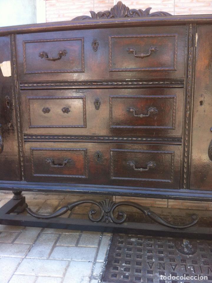Antigüedades: MUEBLE ANTIGUO SALON - Foto 6 - 63985551