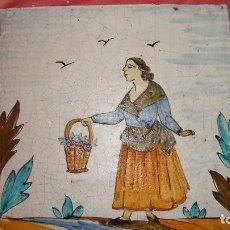 Antiquitäten - Azulejo catalán oficios. - 64032035