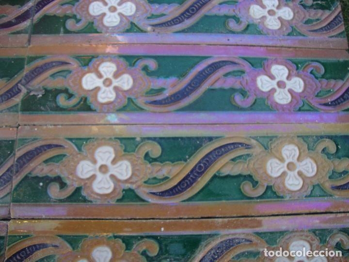 Antigüedades: Lote de 14 azulejos Ramos Rejano - Foto 2 - 64052391