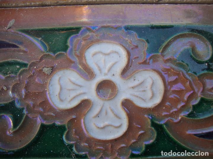 Antigüedades: Lote de 14 azulejos Ramos Rejano - Foto 3 - 64052391
