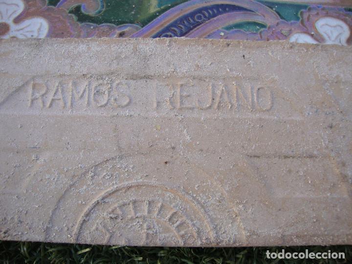 Antigüedades: Lote de 14 azulejos Ramos Rejano - Foto 4 - 64052391