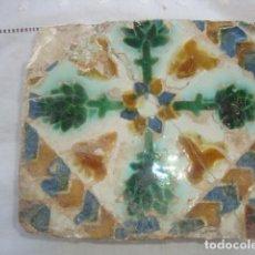 Antigüedades: AZULEJO SIGLO XVI (TRIANA). Lote 64053527
