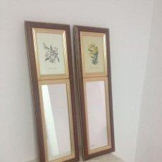 Tres espejos marco de lat n comprar espejos antiguos en for Espejos alargados