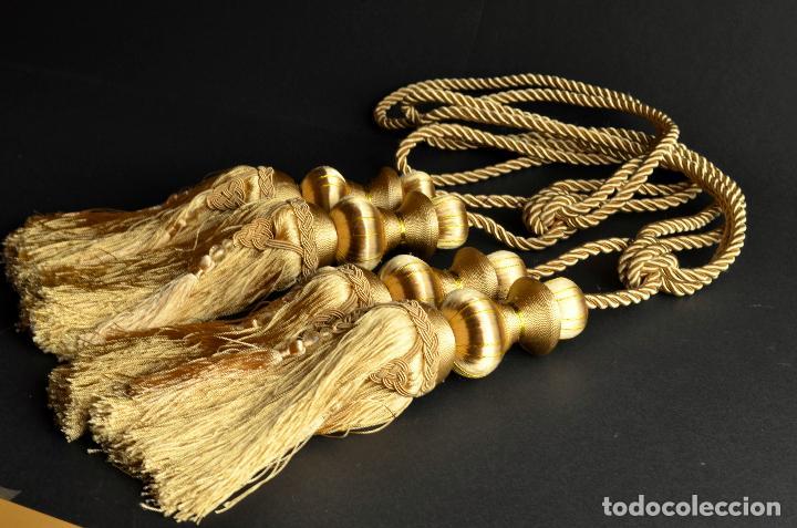 Borl n o borla dorada oro borlas de vestir co comprar - Alzapanos para cortinas ...