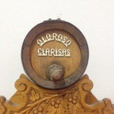 Antigüedades: BARRIL OLOROSO CLARISAS EN MADERA. 5 LITROS. Lote 64113795