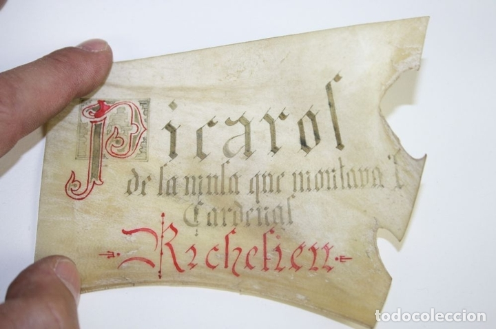 Antigüedades: CASCABEL EN BRONCE. PERTENECIENTE SEGÚN TRADICIÓN CARDENAL RICHELIEU?. XVII - Foto 11 - 45045329