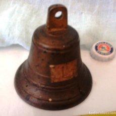 Antigüedades: ANTIGUA CAMPANILLA, CAMPANA. EN BRONCE.. Lote 64150375