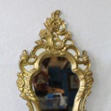 Antigüedades - espejo dorado en escayola - 64161611