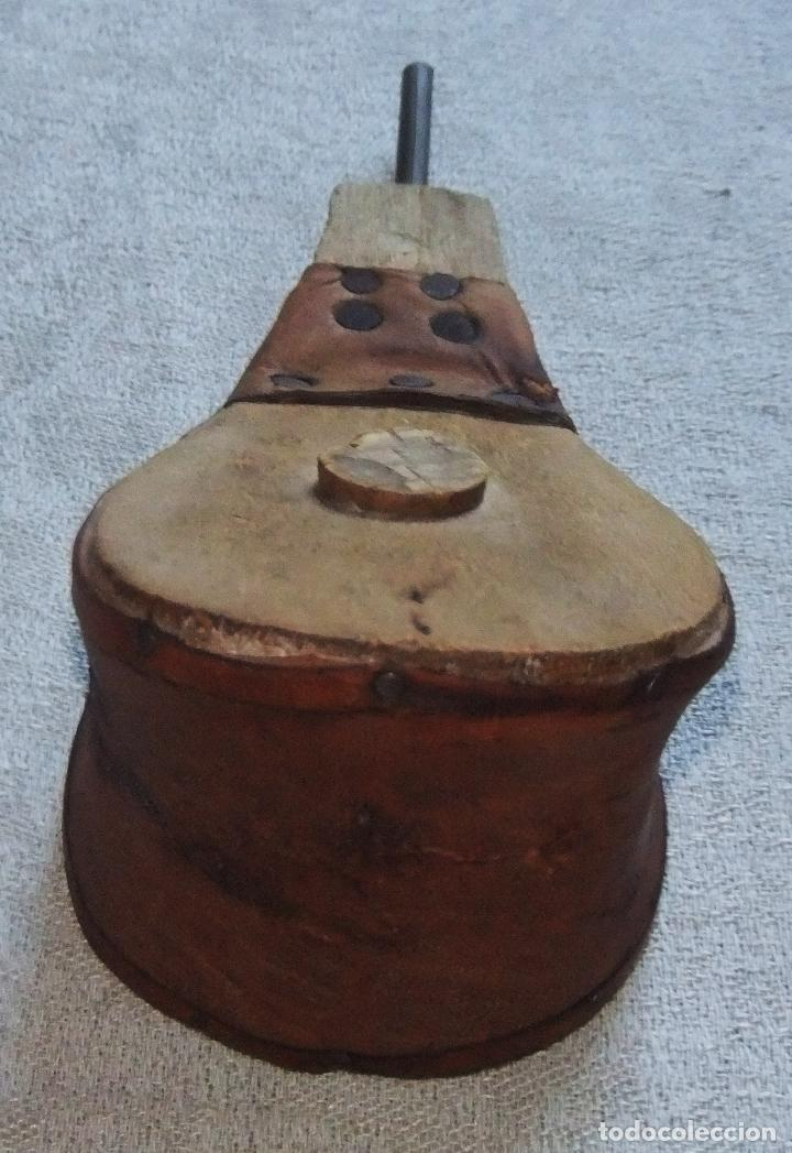 Antigüedades: PEQUEÑO FUELLE PARA SECAR LA TINTA - Foto 3 - 64166639