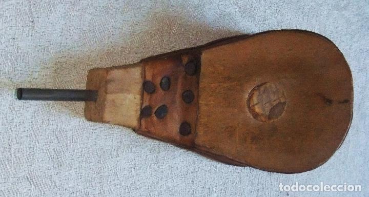 Antigüedades: PEQUEÑO FUELLE PARA SECAR LA TINTA - Foto 4 - 64166639