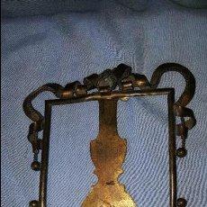 Antigüedades: PORTAFOTO METAL. Lote 64177327