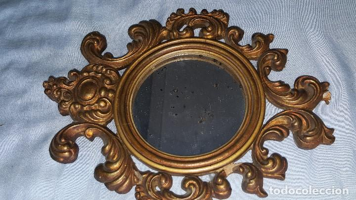 Antigüedades: ESPEJO MAGNIFICO - Foto 10 - 64180331