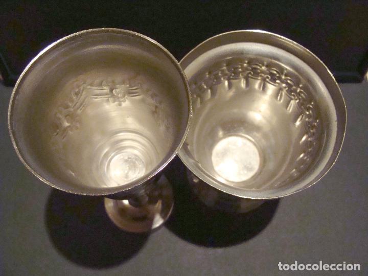 Antigüedades: LOTE COPA Y LAMPARÍN MARRUECOS - Foto 2 - 64301075