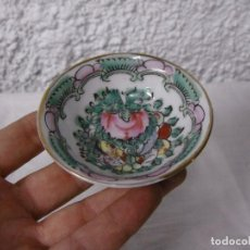 Antigüedades: CUENCO CHINO PARA SUSHI. PINTADO A MANO.. Lote 64314207