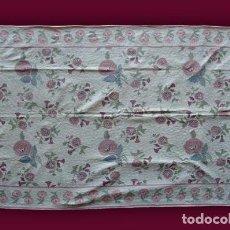 Antigüedades: ALFOMBRA - TAPIZ: GANCHILLO - INDIA (283 X 181 CM.). Lote 64320115