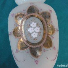 Antigüedades: ANTIGUO JARRÓN EN CRISTAL DE LA GRANJA.. Lote 64346499