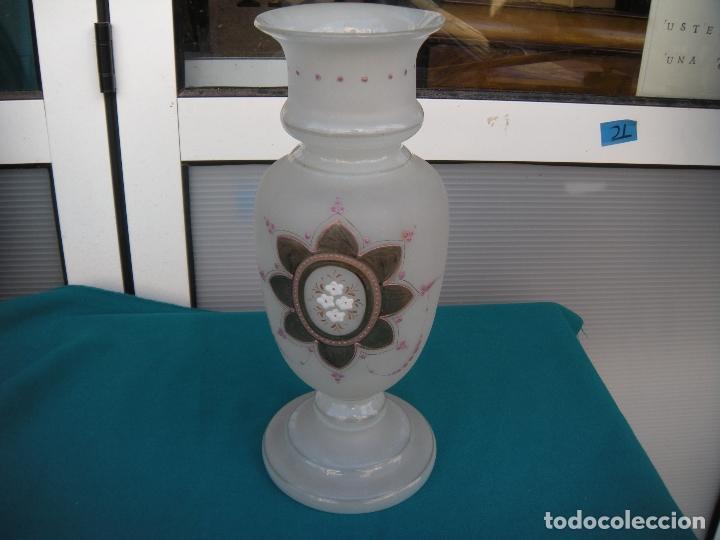 Antigüedades: ANTIGUO JARRÓN EN CRISTAL DE LA GRANJA. - Foto 6 - 64346499