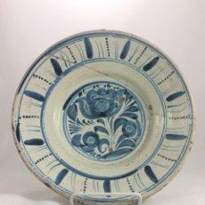 Antigüedades: PLATO DE CERÁMICA ANTIGUA DE TERUEL. Lote 64354305