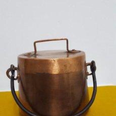 Antigüedades: ANTIGUA OLLA DE COBRE.. Lote 64360651