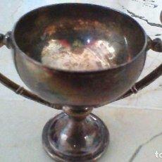 Antigüedades: COPA DE METAL. 6,5 CM. DE ALTURA. Lote 64384571