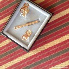 Antigüedades: GEMELOS Y PISACORBATAS.. Lote 64387403