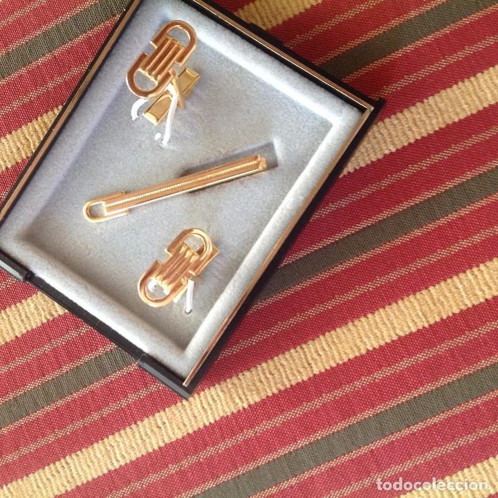 Antigüedades: GEMELOS Y PISACORBATAS. - Foto 6 - 64387403
