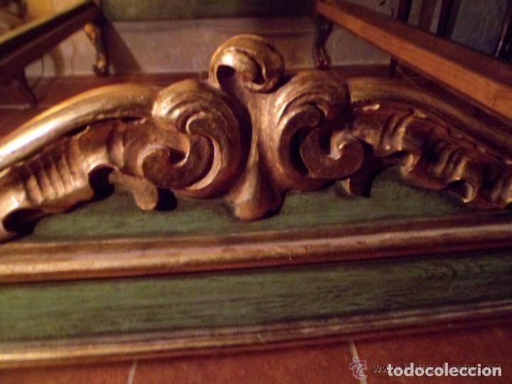 Antigüedades: Cama de Olot S XIX angeles - Envio gratuito Aragón, Cataluña, Valencia - Foto 3 - 64392723