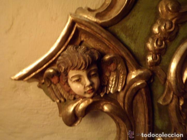 Antigüedades: Cama de Olot S XIX angeles - Envio gratuito Aragón, Cataluña, Valencia - Foto 4 - 64392723