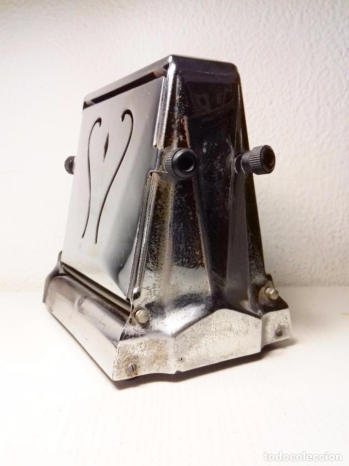 Antigüedades: tostadora VINTAGE FLUDOR. Argentina. - Foto 12 - 64393523