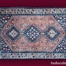Antigüedades: ALFOMBRA - TAPIZ: JALAMÉ - IRÁN (154 X 106 CM.). Lote 64412059