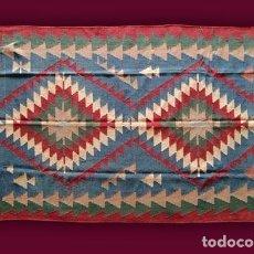 Antigüedades: ALFOMBRA - TAPIZ: KILIM USAK - TURQUÍA (283 X 190 CM.). Lote 64412687
