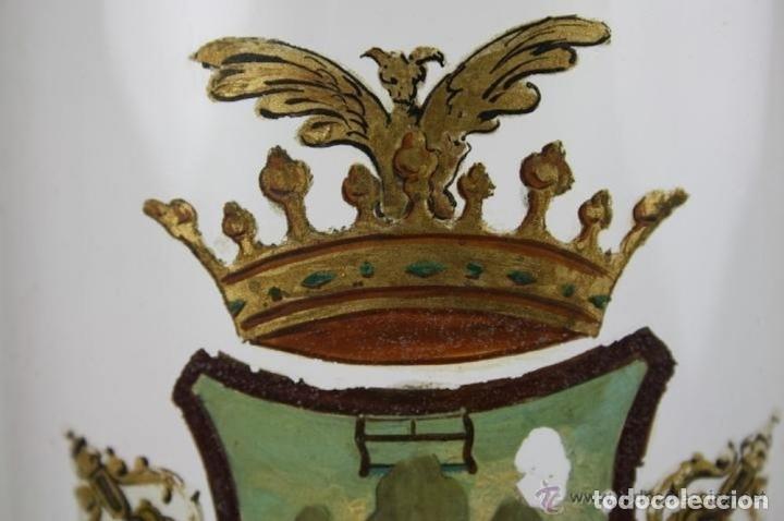 Antigüedades: BOTELLA DE LICOR. MARCA DE LA FAMILIA ROGENT. COLLBATÓ. SIGLO XIX. - Foto 5 - 40225370