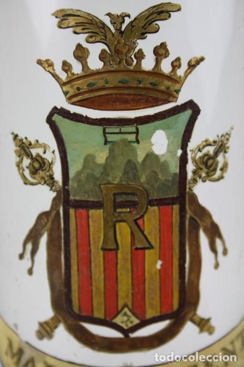 Antigüedades: BOTELLA DE LICOR. MARCA DE LA FAMILIA ROGENT. COLLBATÓ. SIGLO XIX. - Foto 6 - 40225370