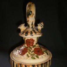 Antigüedades: BOTIJO DE CERÁMICA VIDRIADA (ALTURA 30 CM).. Lote 64425383