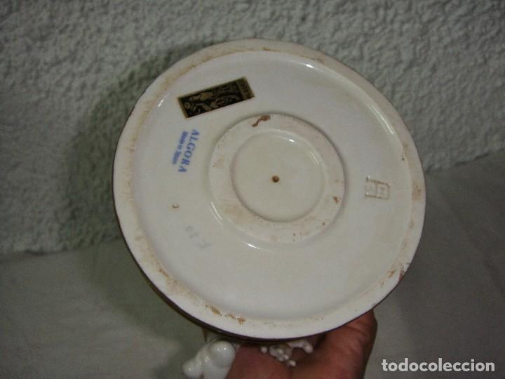 Antigüedades: Figura de Porcelana de ALGORA. Ángel. Estación de Verano. Joyería Mexia - Cádiz. - Foto 6 - 64456751