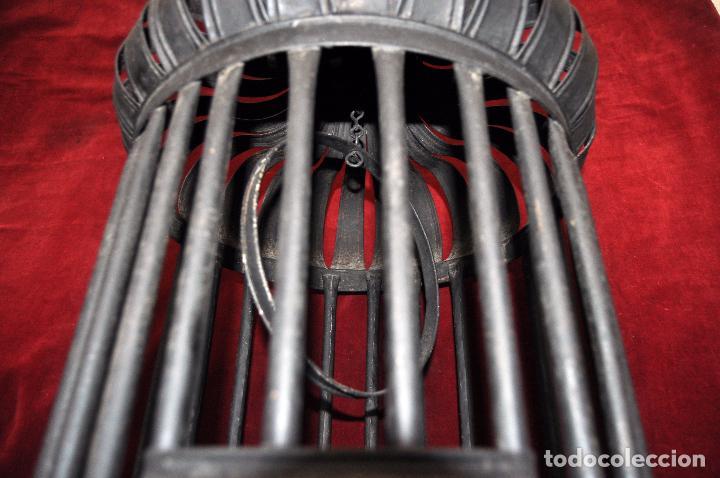 Antigüedades: ANTIGUA JAULA EN HIERRO DEL SIGLO XIX, PROCEDENTE DE URUGUAY (NARCISO CALBÓ Y MIRO) - Foto 3 - 64460455